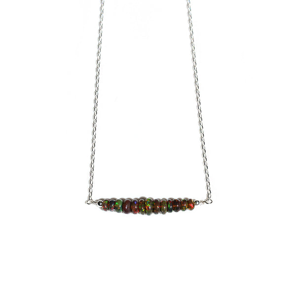 Black Opal Necklace