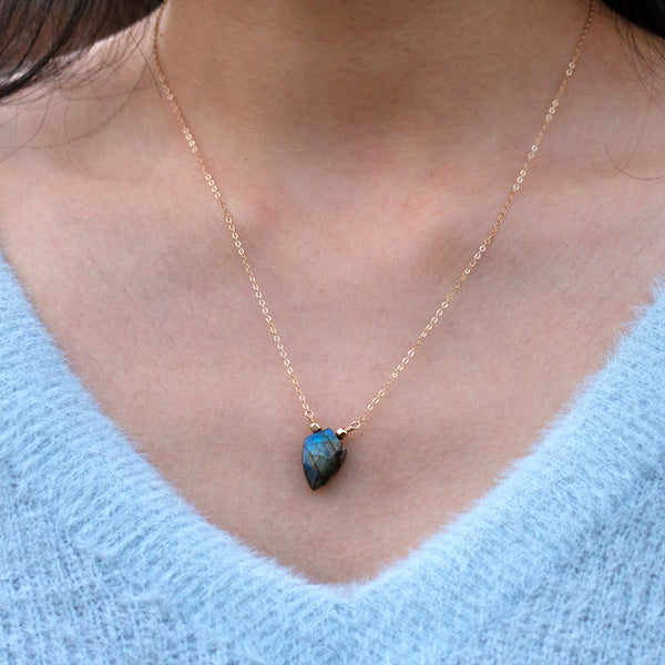 labradorite necklace handmade