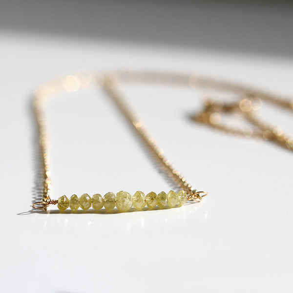 Gold Diamond Necklace