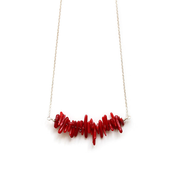 Genuine Red Coral Necklace