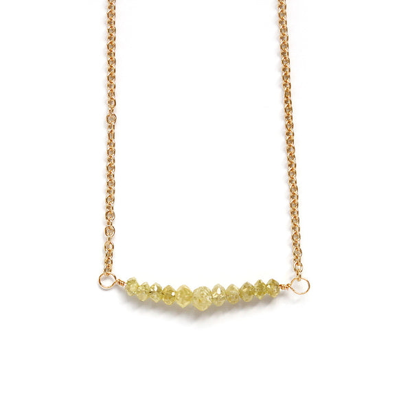 Gold Filled Diamond Necklace