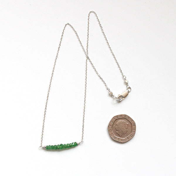 Green Garnet Necklace