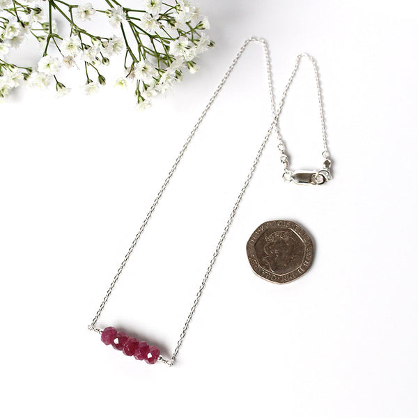 Mozambique Ruby Necklace
