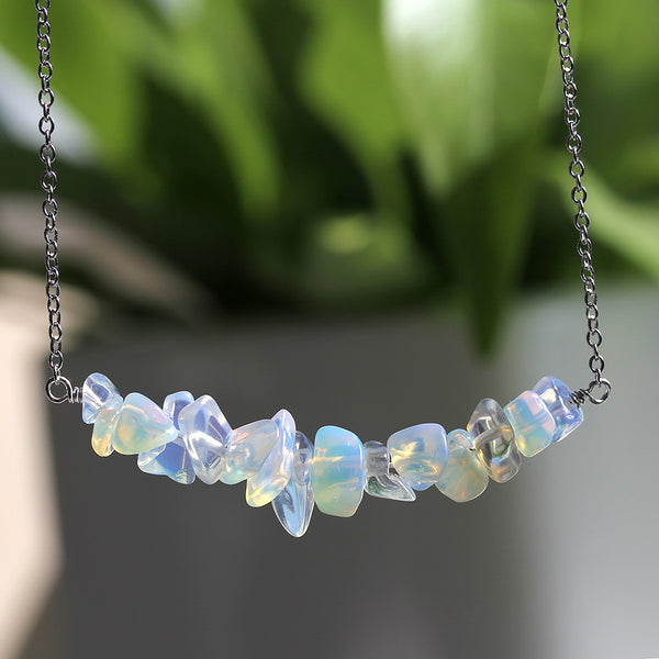 Lab Created Opal Necklace