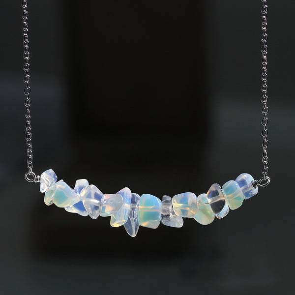 Opalite Moonstone Necklace