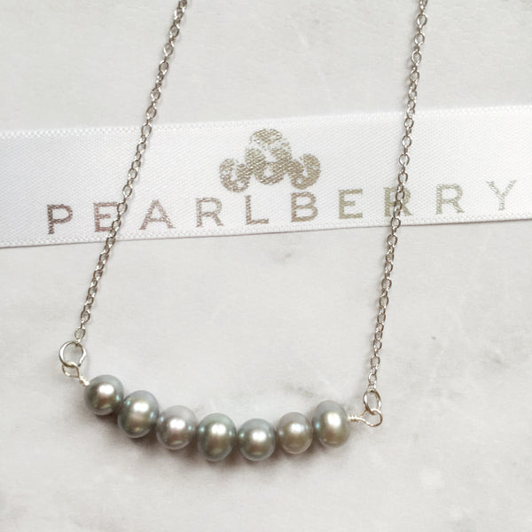 Pearlberry Grey Pearl Jewellery