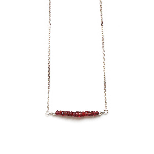 Pearlberry Jewellery Ruby Necklace