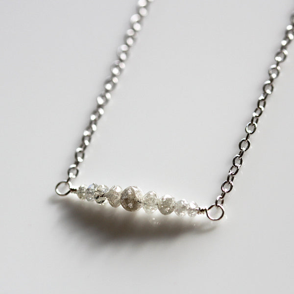 Pearlberryjewels Diamond Necklace
