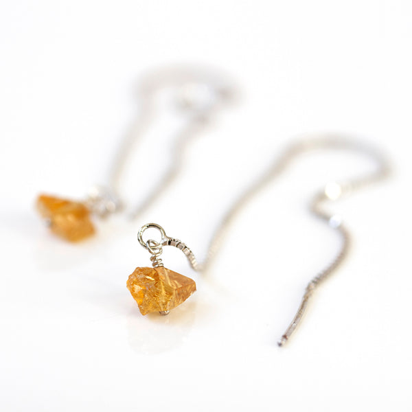 raw citrine jewellery