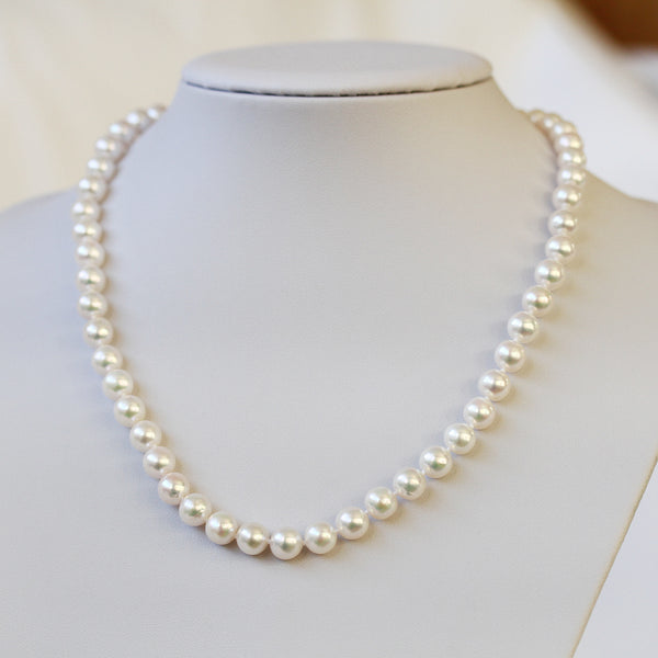 real saltwater pearl necklace