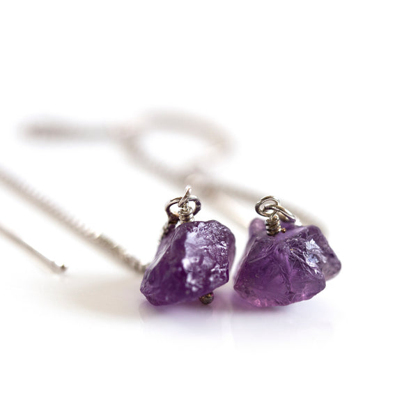 rough amethyst jewellery pearlberry
