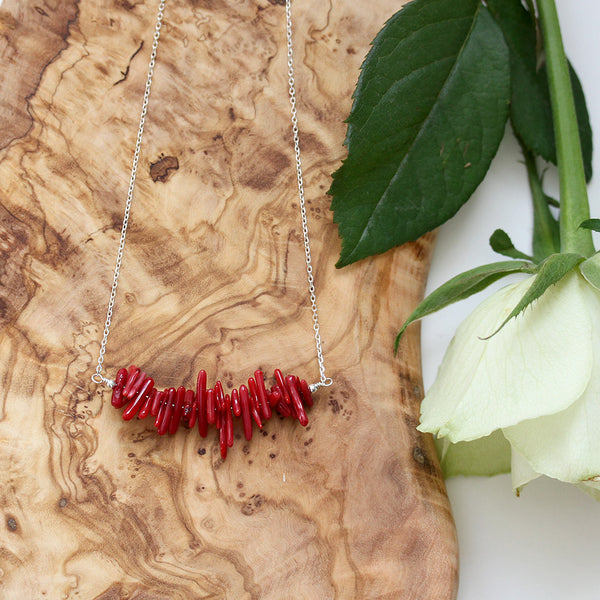 Stick Coral Necklace