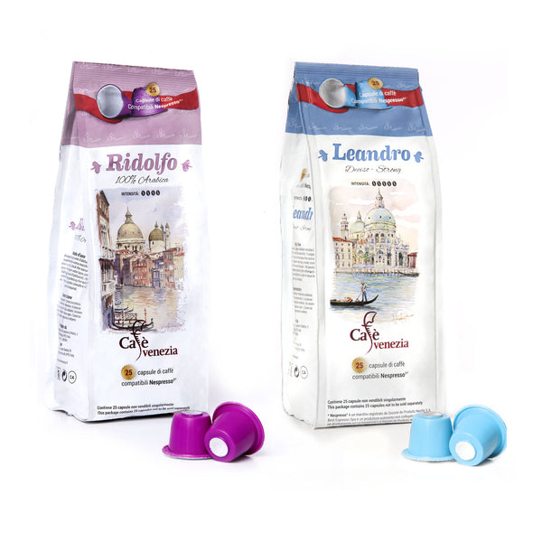 Mix Nespresso® - 200 compatible capsules