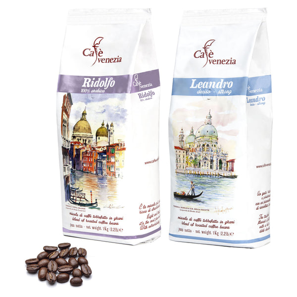 Mix Coffee Beans - 2 packs / 2 kg