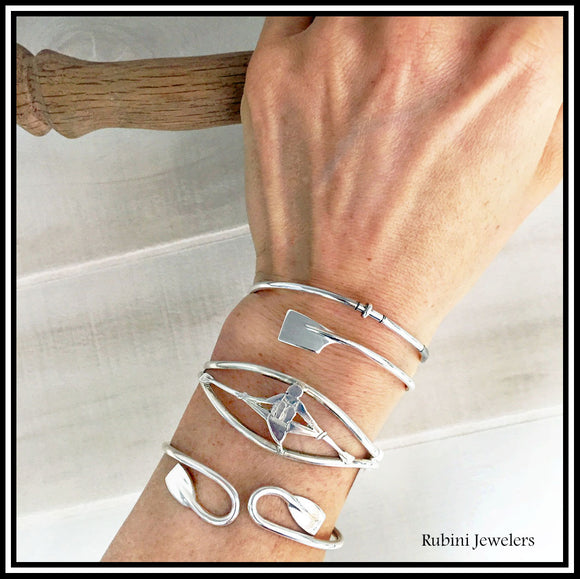 Rowing Bracelets and Anklets by Rubini Jewelers
