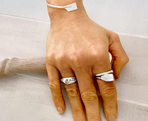 Rowing Rings by Rubini Jewelers