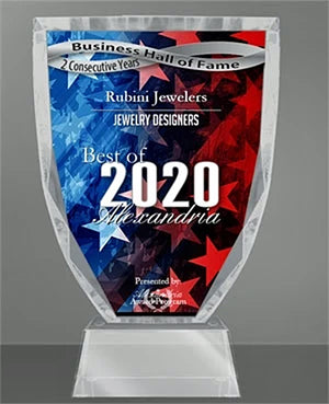 2020 Best of Alexandria Jewelry Designers Rubini Jewelers, 2nd Year Running