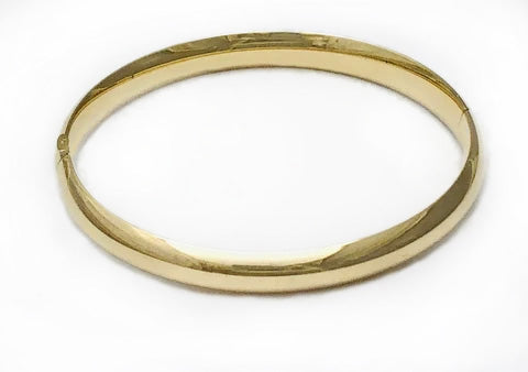 Gold Bangle Bracelet at Rubini Jewelers