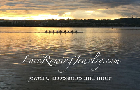 Rowing Jewelry by Rubini Jewelers- Rowing Image by Joanna Rubini
