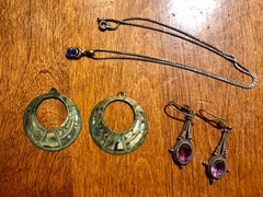 Jewelry prior to finishing at Rubini Jewelers