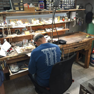 Bench Jeweler at Rubini Jewelers