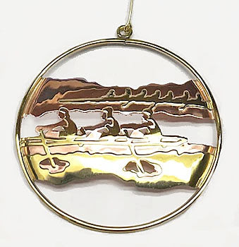 Rowing Ornaments and Cards at Rubini Jewelers