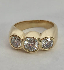 Dad's Gold Diamond Ring Surgically Altered by Rubini Jewelers