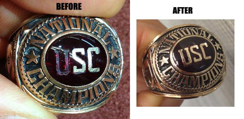 Vintage Class Ring Restoration by Rubini Jewelers