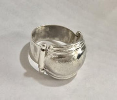 Silver Domed Ring by Rubini Jewelers Silver Rings