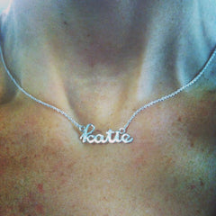 cnc katie engraved plate