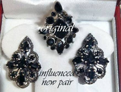 Victorian Style Costume Earrings