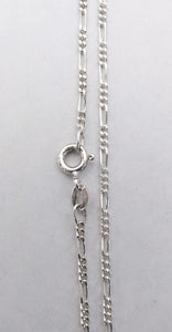 Sterling Silver 1.5mm Figaro Chain