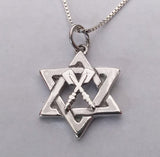 Star of David with Crossed Oars Pendant, by Rubini Jewelers
