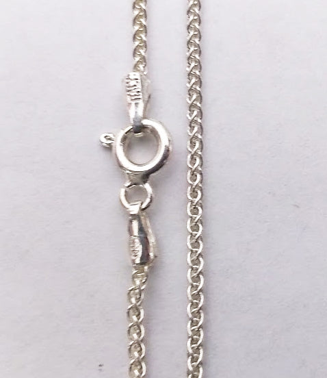 Sterling Silver 1.3mm Wheat Chain