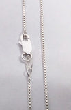 Sterling Silver Solid Box Chain