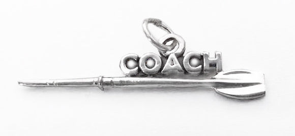 COACH with Tulip Oar Rowing Pendant by Rubini Jewelers
