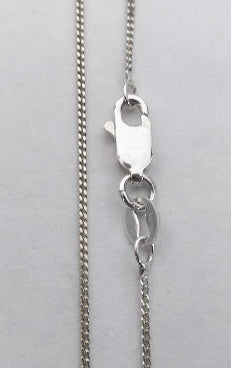 Sterling Silver 1.1mm Curb Chain