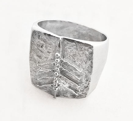 Eight Oared Rowing Boat on Signet Ring by Rubini Jewelers