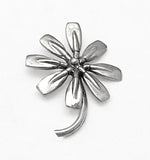Flower of Eight Rowing Tulip Blades Pendant Sterling Silver, by Rubini Jewelers