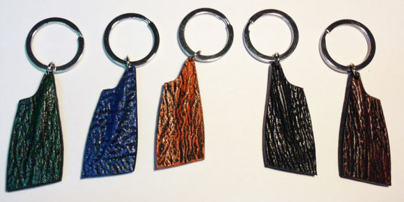 Shark Skin multicolor Key Chains