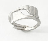 Two Overlapping Oars Rowing Ring by Rubini Jewelers