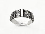 Silver Celtic Spiral Ring by Rubini Jewelers