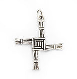 St. Bridget's Silver Cross by Rubini Jewelers