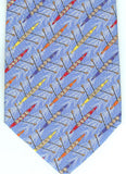 Men's necktie with four person shells