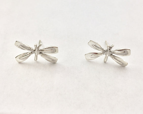 Rowing Blades Butterfly Post Earrings