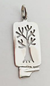 Tree of Life Rectangle with Rowing Blade
