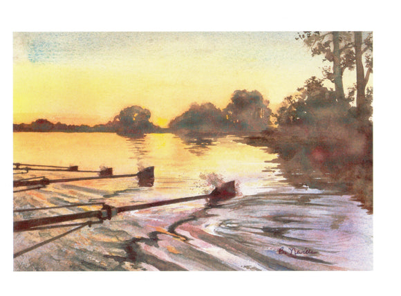 Twilight Rowing Cards, by Barbara Neville, available from Rubini Jewelers