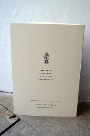 All Arms - greetings card