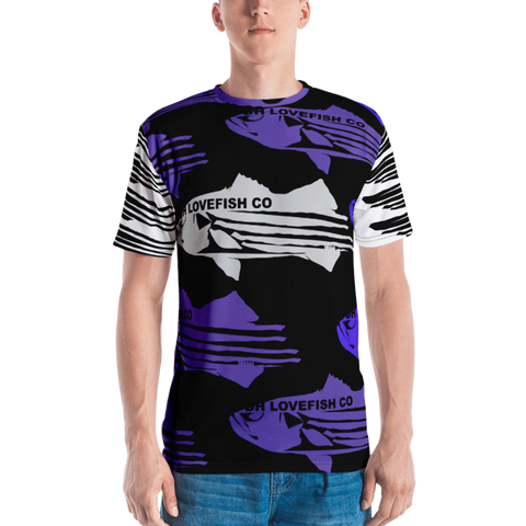STRIPER LOVE JERSEY TEE - D.H. Lovefish Co.