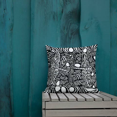 EPHORON LIMITED EDITION THROW PILLOW - D.H. Lovefish Co.